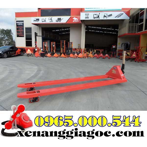 xe nâng tay thấp 5 tấn càng dài 1.8m