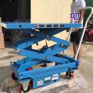Bàn Nâng điện 800kg Cao 1.4m