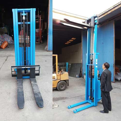 xe nâng bán tự động 1500kg cao 3 mét