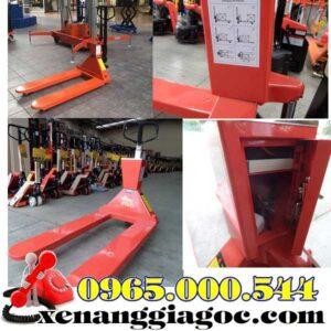 Xe Nang Tay Co Gan Can Dien Tu 2500kg