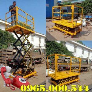 Bàn Nâng điện 500kg Cao 3m