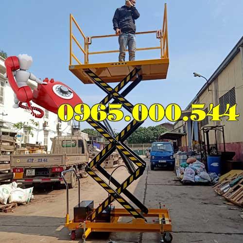 Ban Nang Dien 500kg Cao 3m Staxx