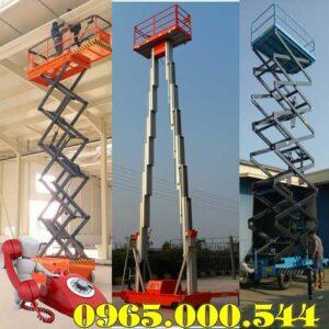 Công Ty Bán Xe Nâng Người Ở Thái Nguyên 6m 9m 12m 16m Sẵn Hàng